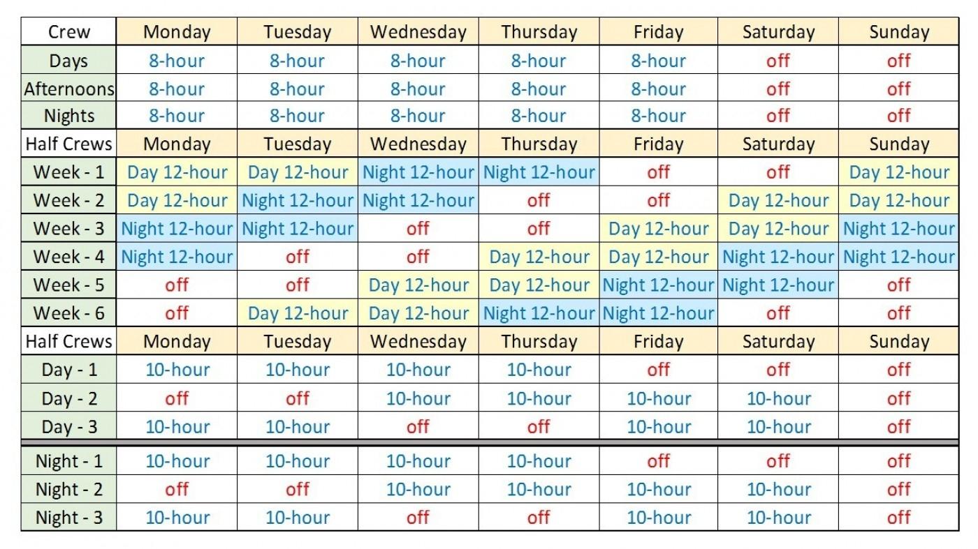 Hfd 2020 Monthly Shift Calendar | Calendar Template