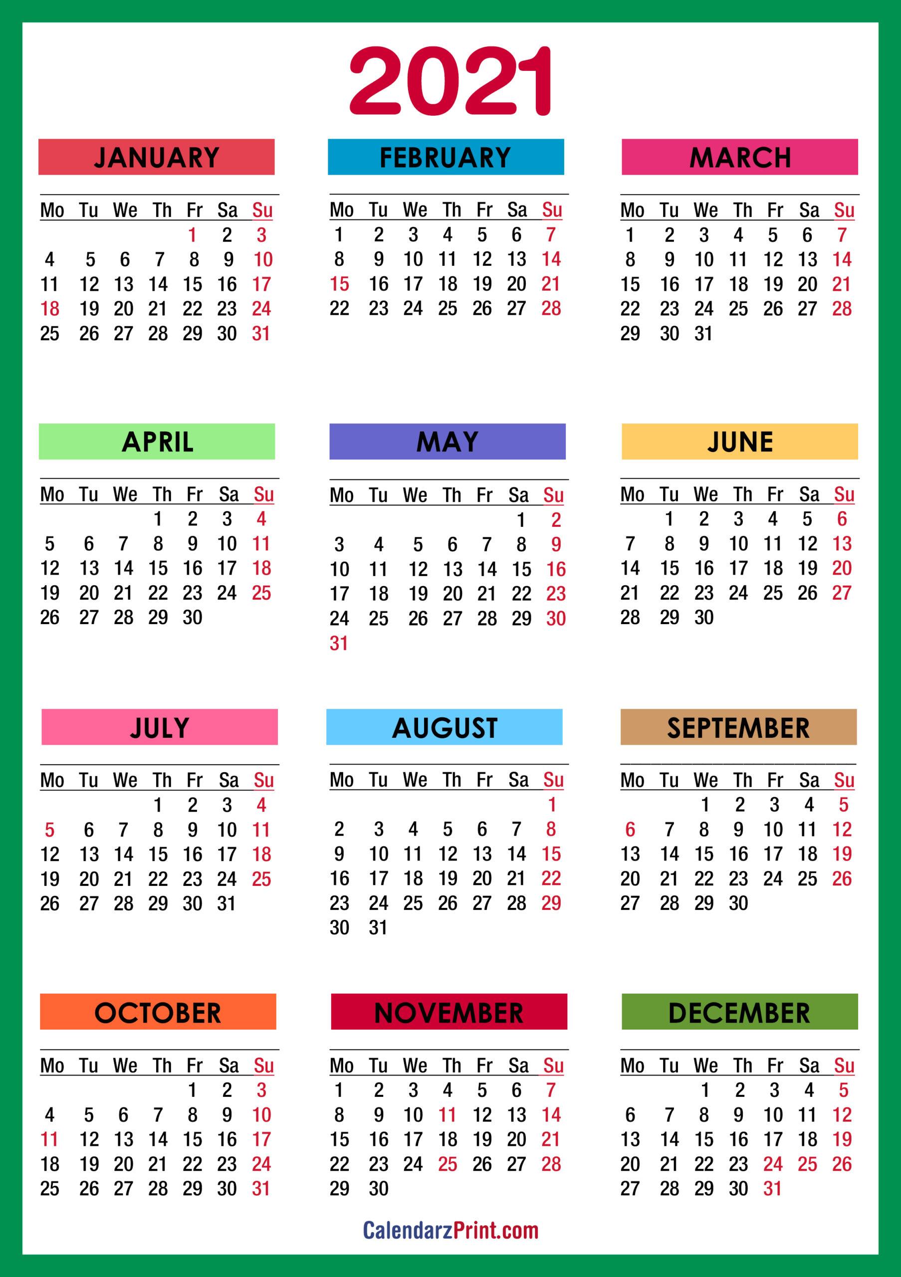 January 2021 Calendar Wallpaper Wallpaper Download 2021 : Printable Cute January 2021 Calendar