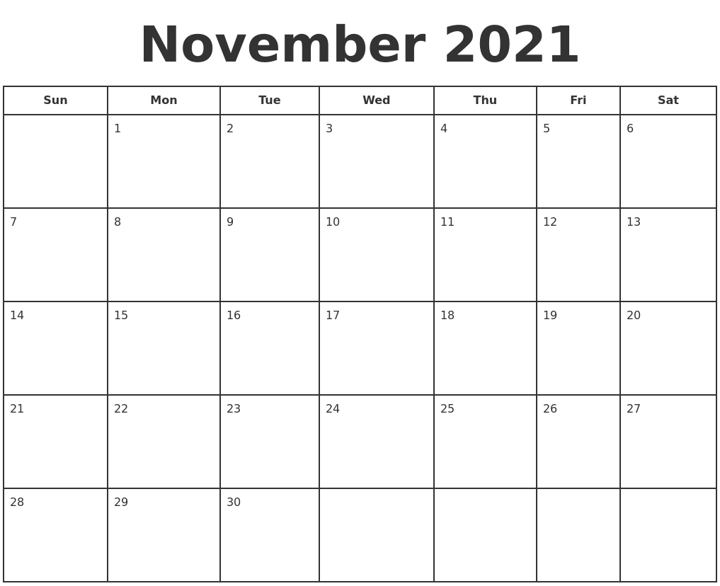 July 2021 Calendar Printable