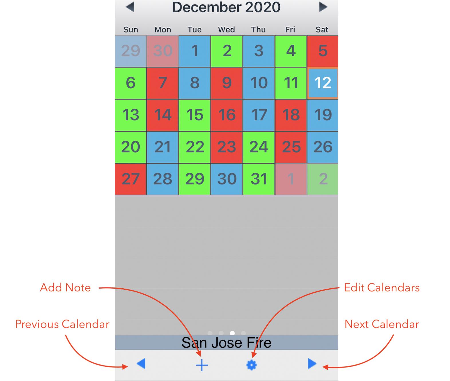 La County Fire Shift Calendar 2021   Example Calendar
