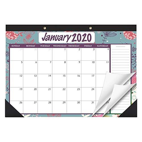 Lejia January 2020 To December 2021 Desk Calendars