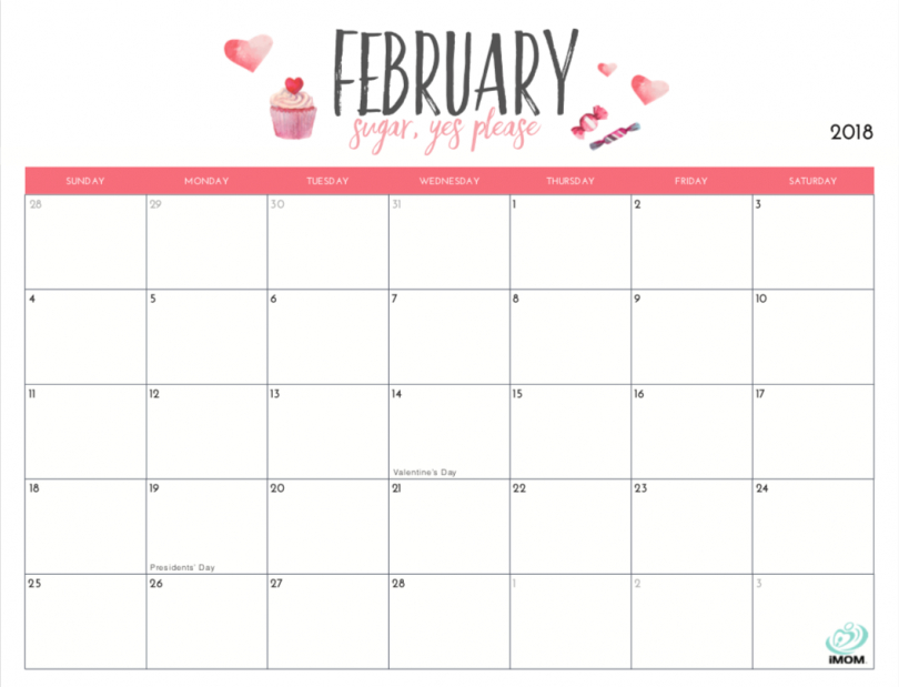 Monthly Calendar To Print Free
