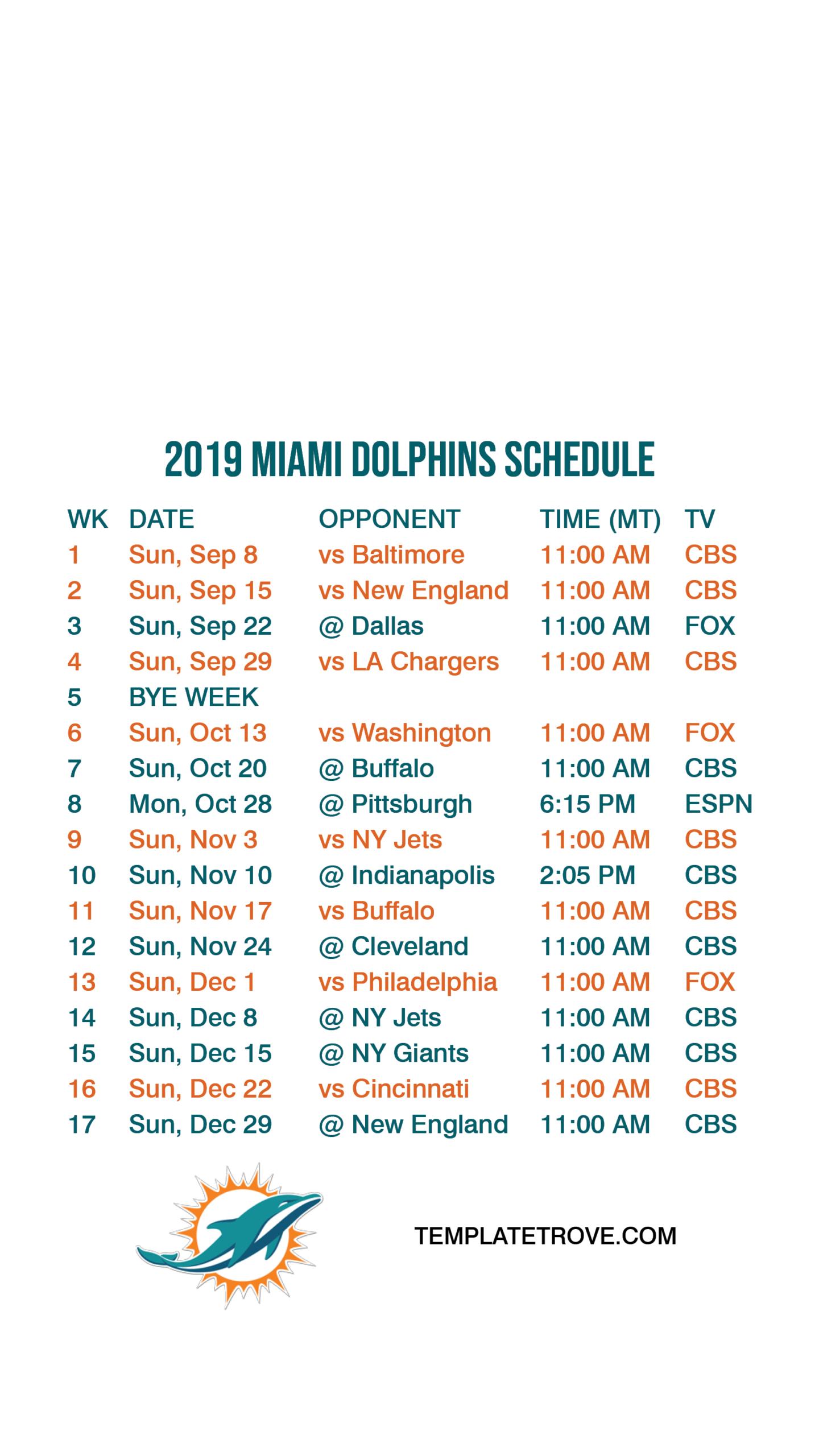 Nfl Regular Season Schedule 2019 2021 | Calendar