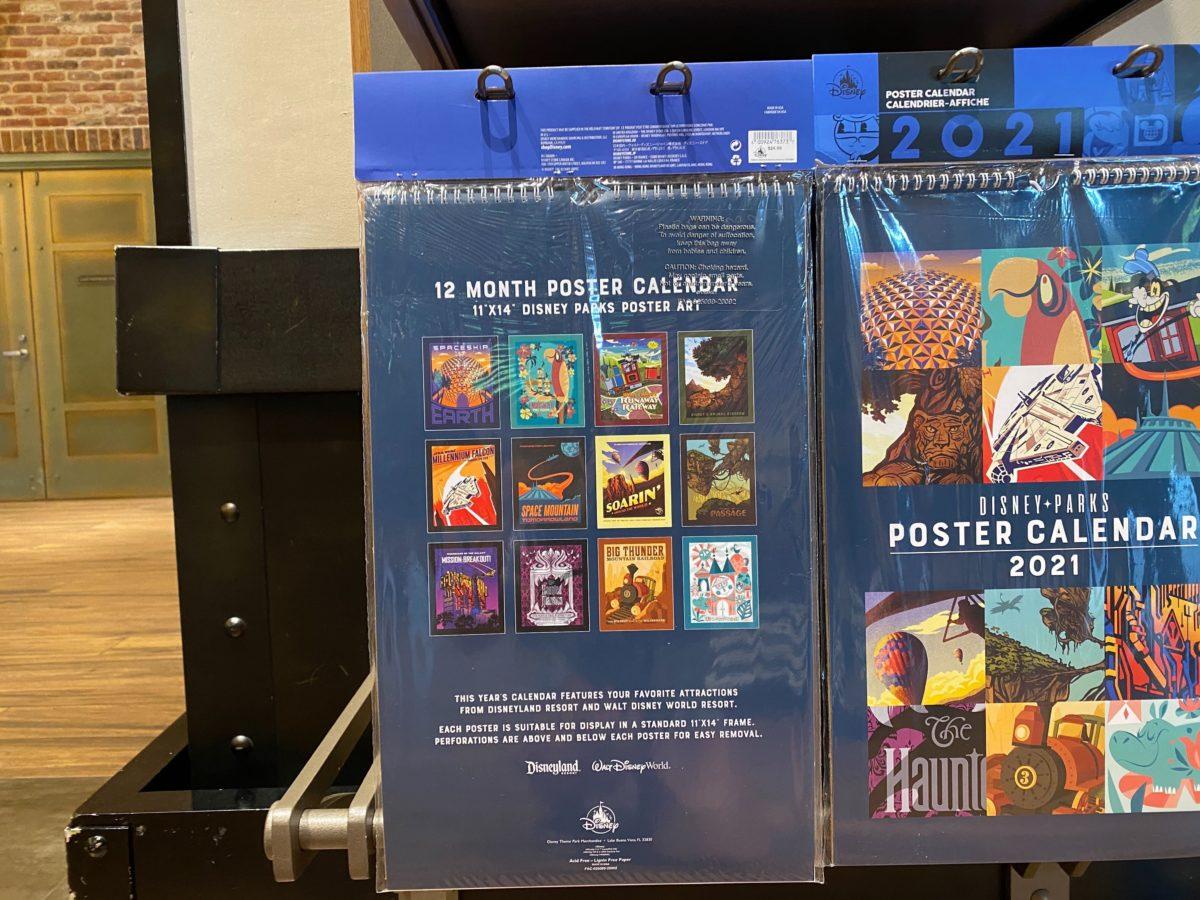 Photos: New 2021 Disney Parks Poster Calendar Now Available At Disneyland Resort - Disneyland