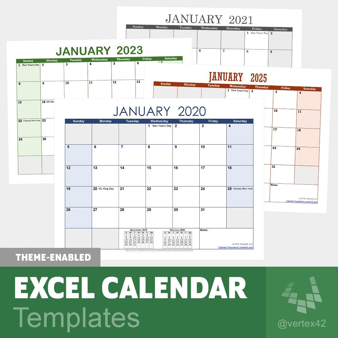 Piano Ferie 2021 Formato Excel | Calendar Template 2021