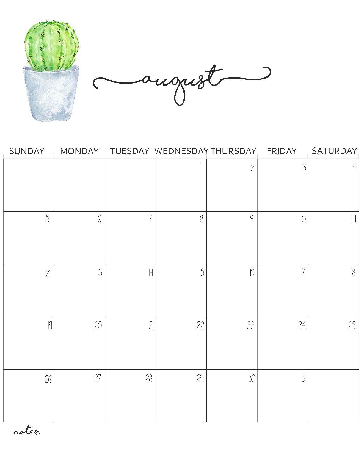 Pick 8X11 Printable 2020Cal   Calendar Printables Free Blank