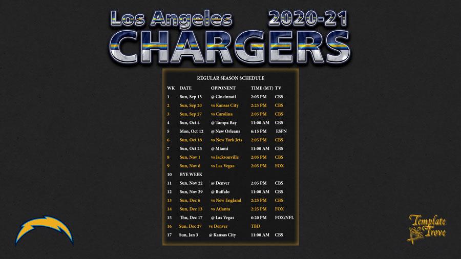 Printable 2021 Full Nfl Schedule   Calendar Printables