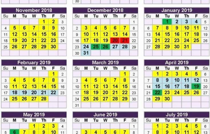 Printable Calendar Qld | Calendar Printables, School