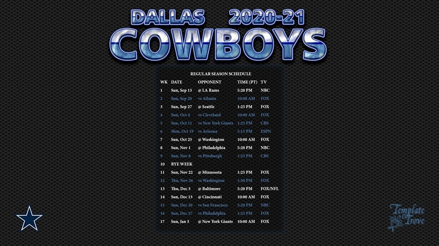 Printable Nfl Schedule For 2021 2021   Calendar Template