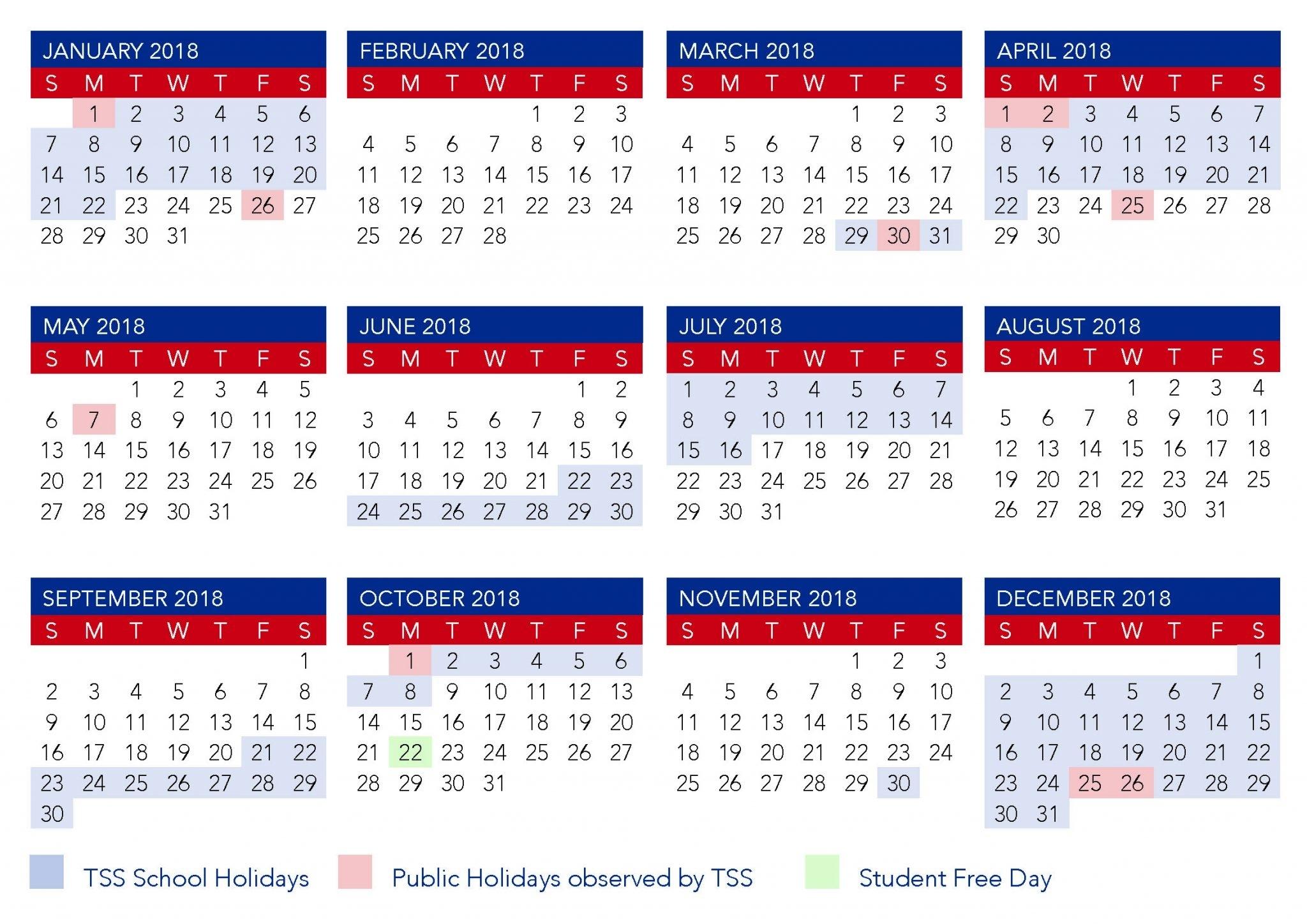Qld School Calendar 2020 Pdf Printable | Example Calendar