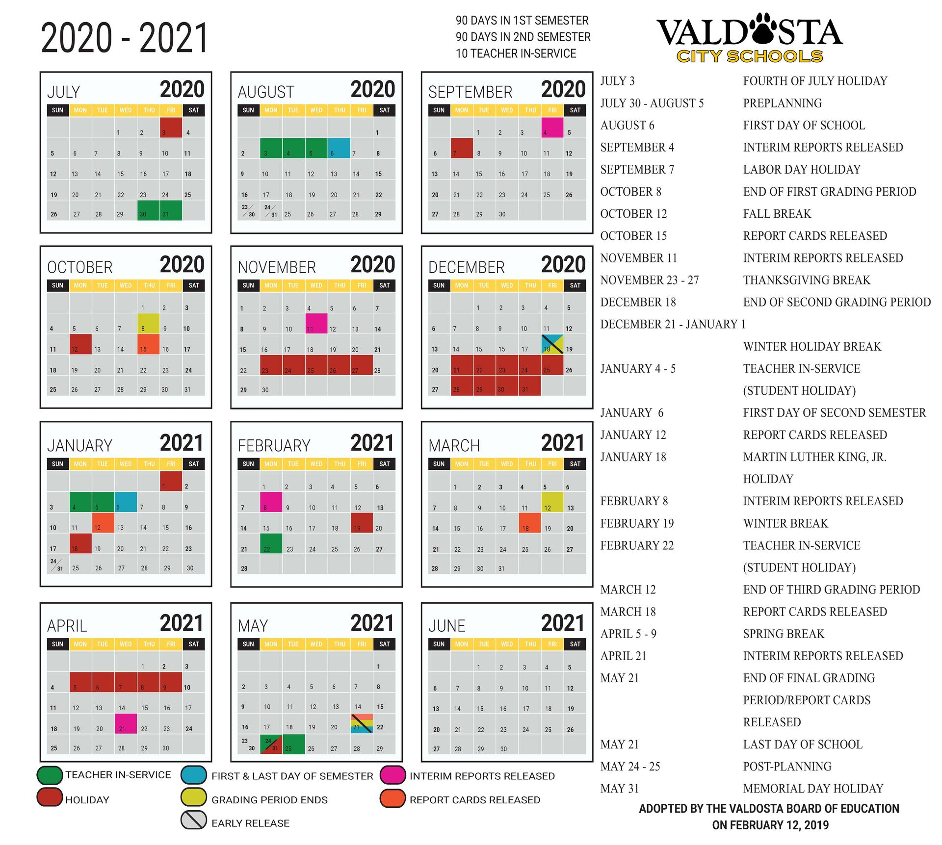 Broward School Calendar 2021 2021
