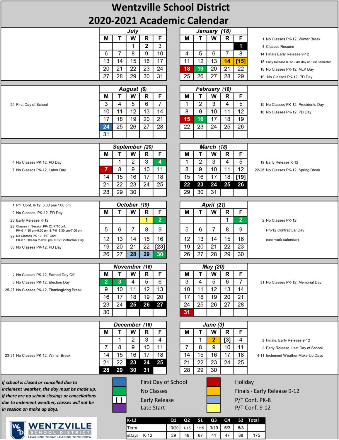 School Calendar For Next Year Is Released And Brings New