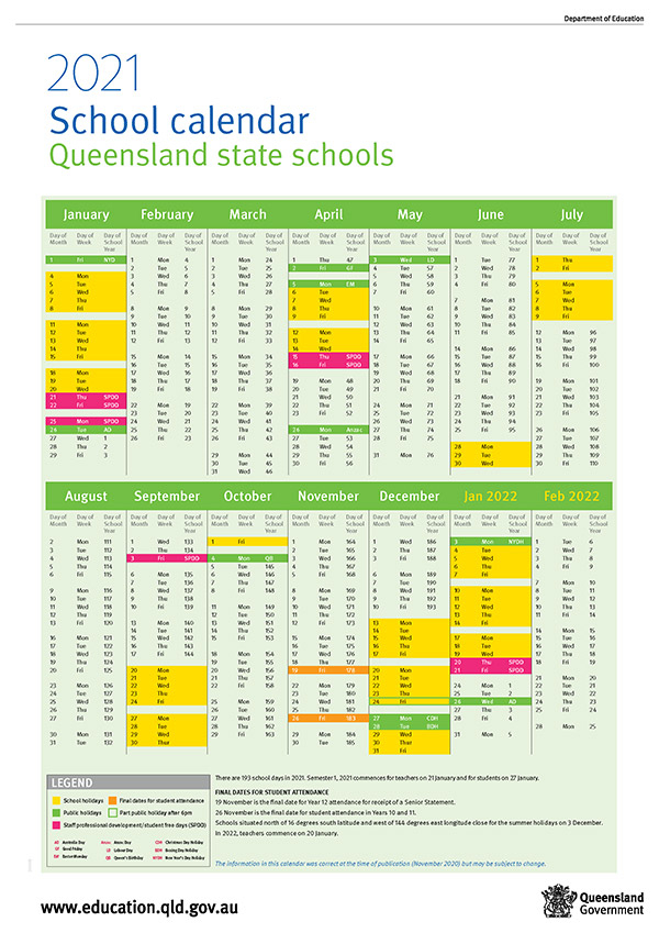 School Holidays And Term Dates