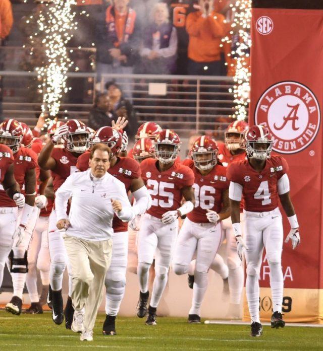 Sec Releases Full 2020 Football Schedule; Alabama-Georgia