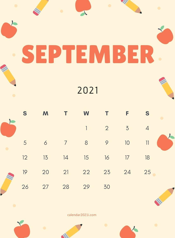 September 2021 Wallpaper Calendar   Academic Calendar