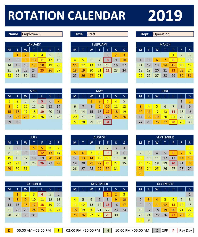 Shift Calendar 2021 Free   Calendar Printables Free Blank