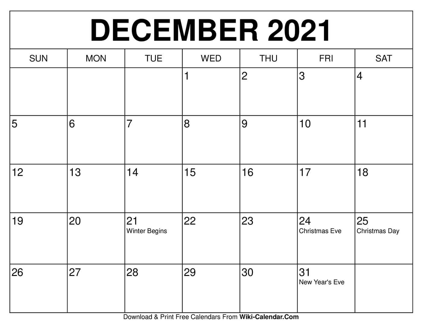 Take Planner December 2021 - Best Calendar Example