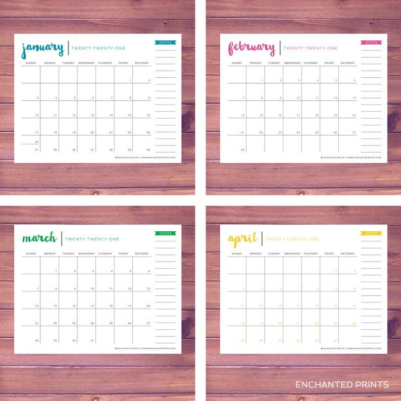 Turning Stone 2021 Spring Fling Bingo   Printable Calendar