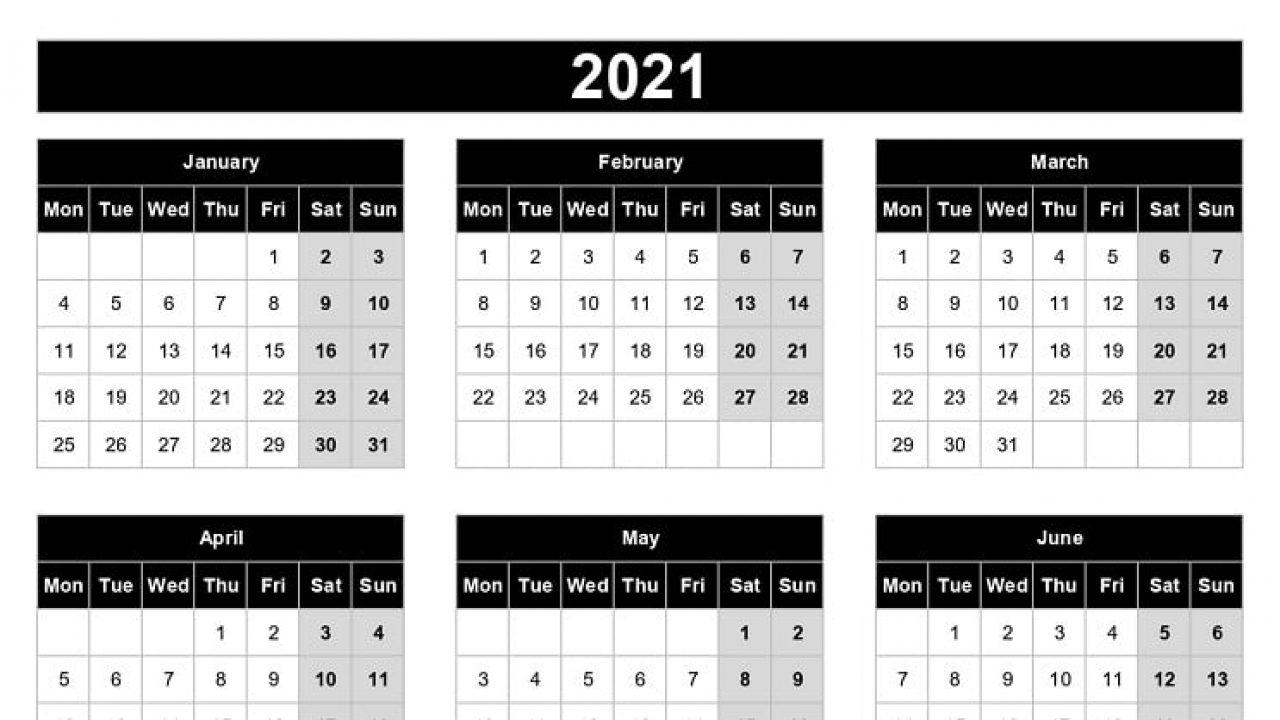 Weeks Calendar 2021 For Tasks   Calendar Page