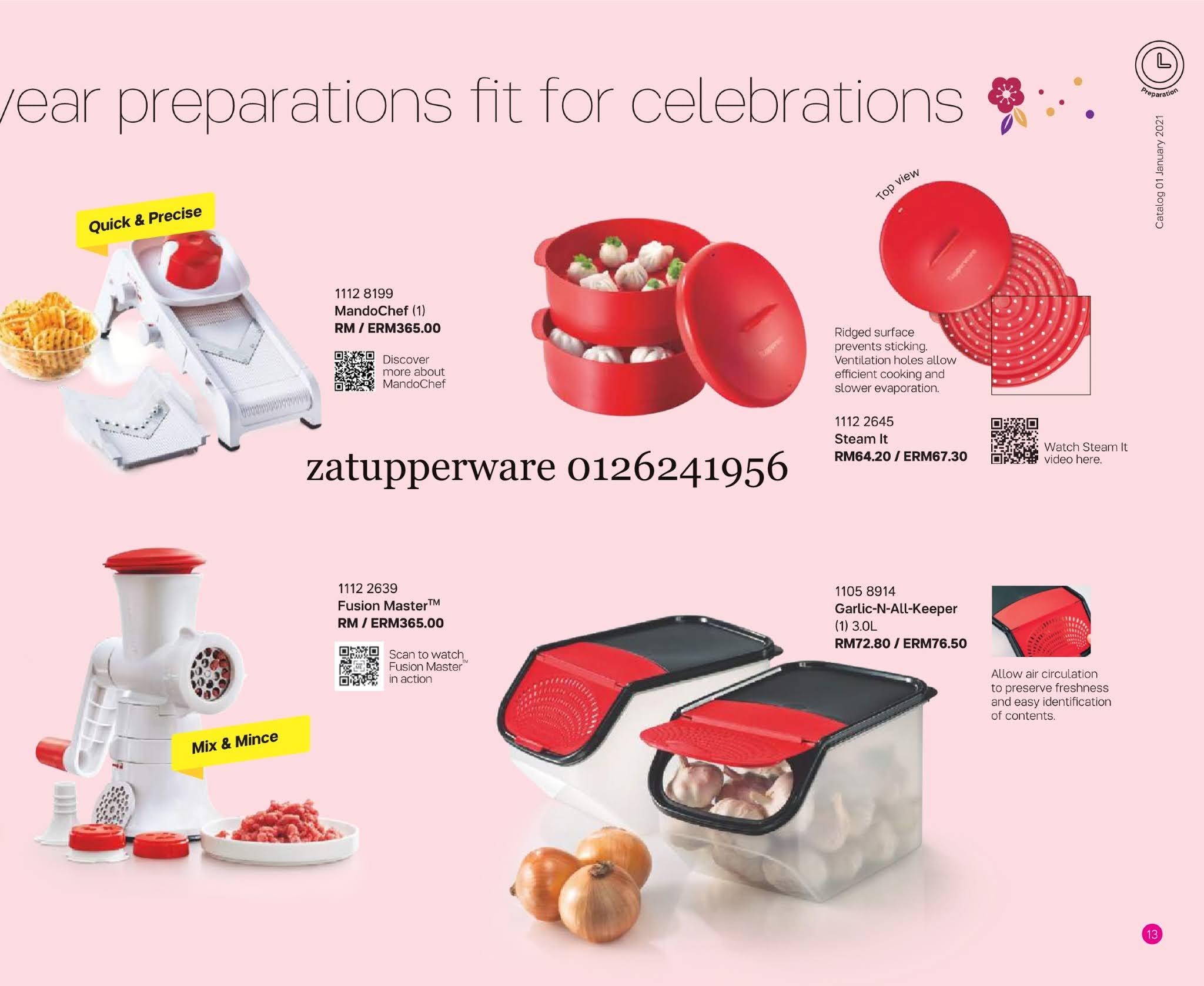 Za Tupperware Malaysia : Latest Catalogue 2021