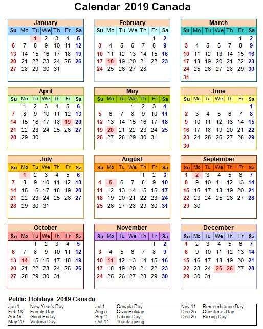 20+ 2022 Calendar Canada - Free Download Printable