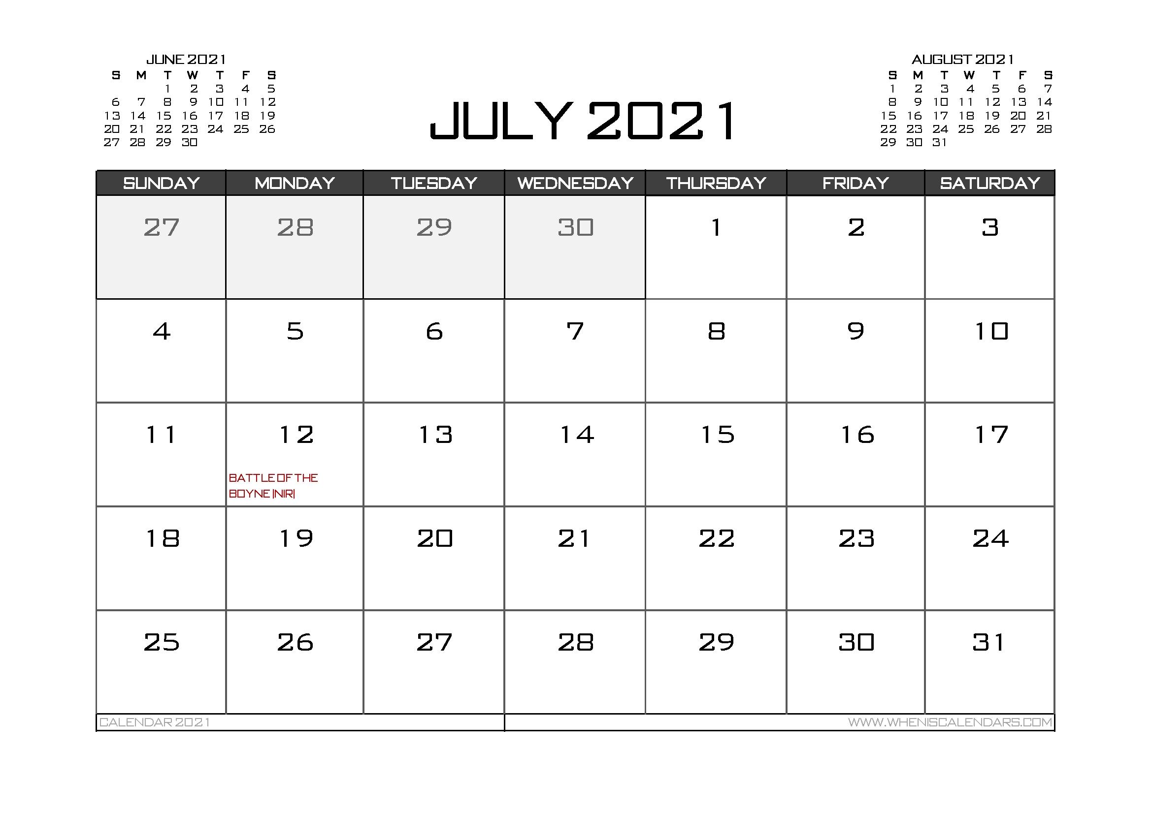 2021 Calendar Uk Printable | Calendar Template Printable