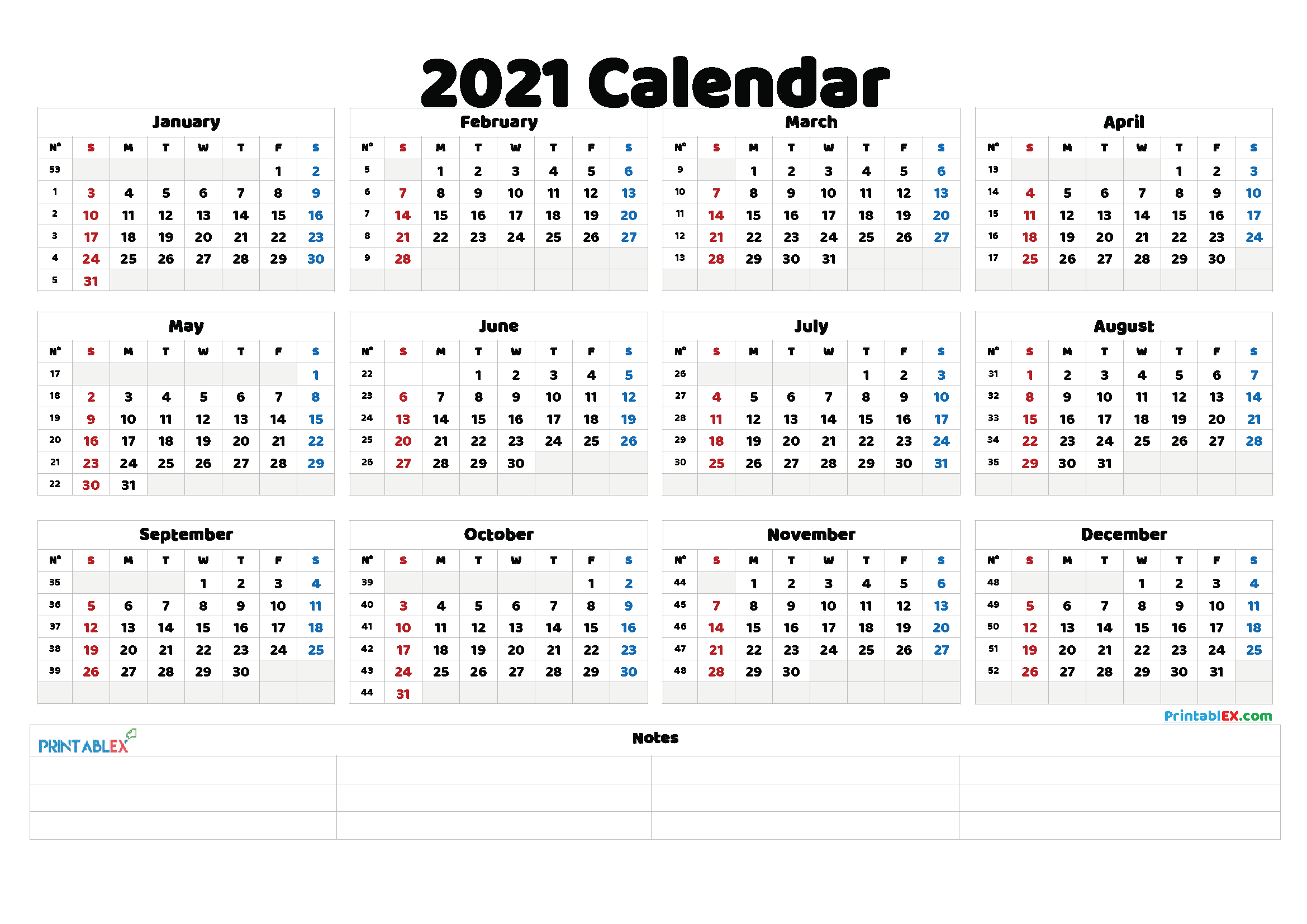 Free Printable 2021 Calendar With Religious Holidays