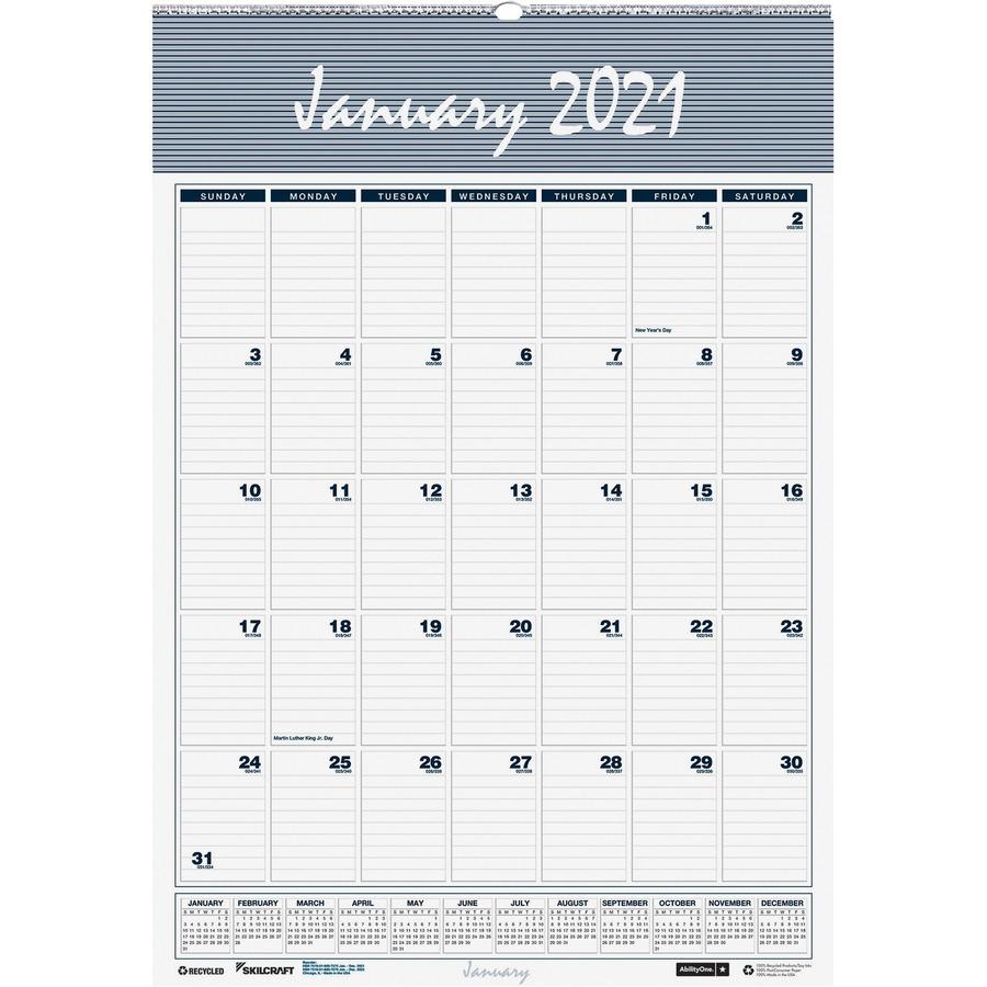 Nsn6007582 : Skilcraft® 7510016007582 Skilcraft Monthly
