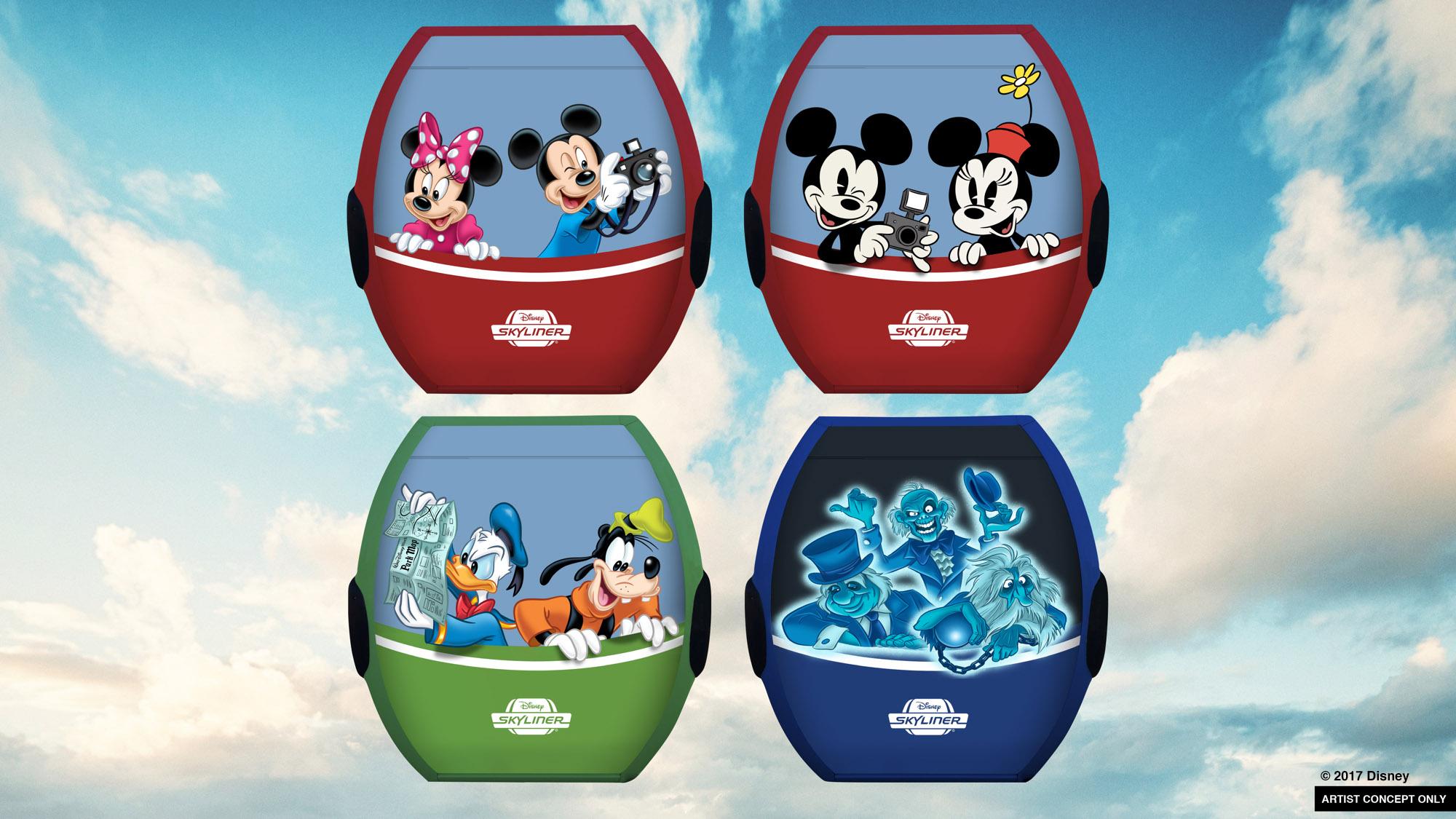Walt Disney World Rides 2021 | Calendar Printables Free Blank